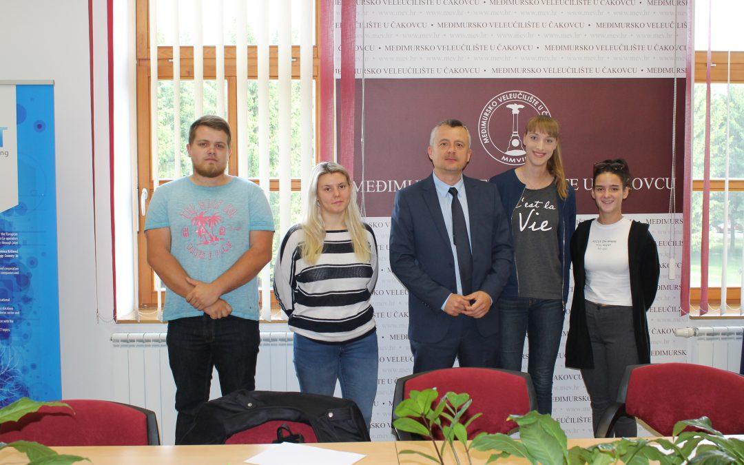 Radni sastanak studenata s upravom MEV-a